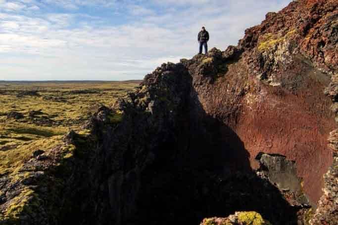 Eldvörp Reykjanesi