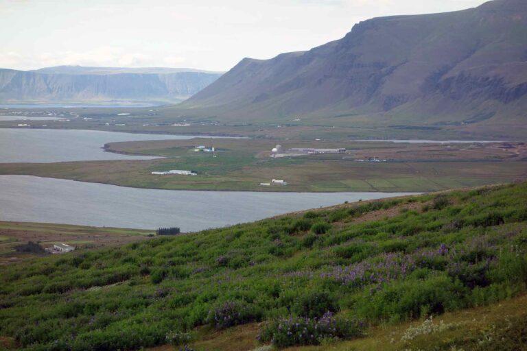 Kollafjörður og Esjan