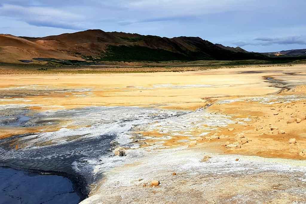 Mývatn - jarðböðin