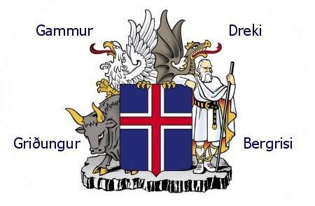 Skjaldamerki Íslands