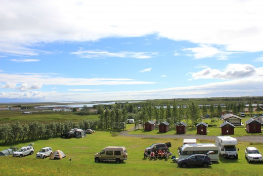 Kirkubaer camping